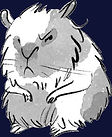 Hamster by Evgenia Malina, from Unlucky for Some by Julia Edwards. Unlucky for Some Scar Gatherer series history time travel tales twist bite Julia Edwards books independent author writing workshops schools kids children teach VIPERS comprehension Key Stage 2 Two