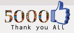5000 Likes | Followers