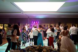 O baile no casamento