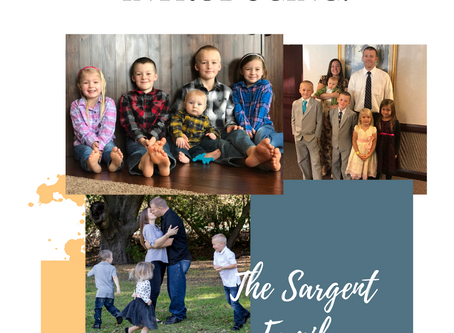Introducing: The Sargent Family