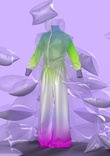 Look 4 - Lilac Care-Hero