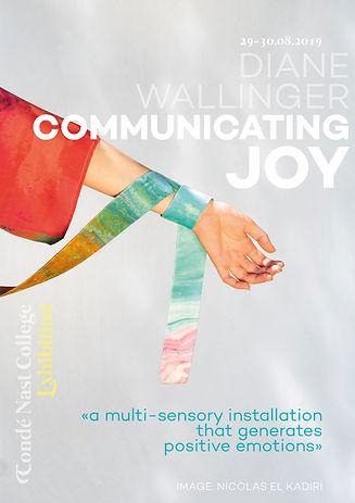 Communicating JOY poster