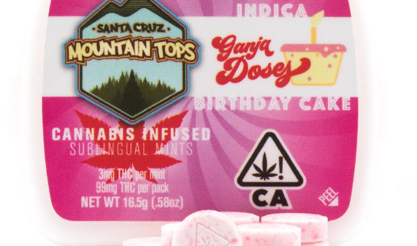 Birthday Cake sublingual mints [Indica]