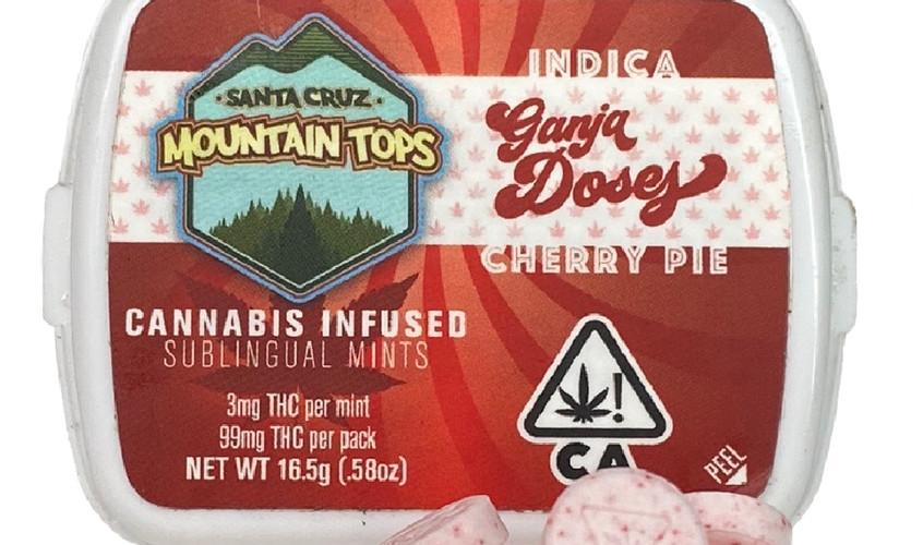 Cherry Pie sublingual mints [Indica]