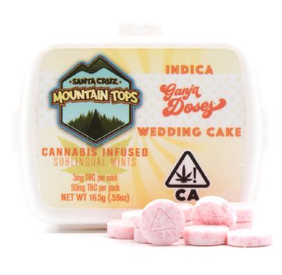 Wedding Cake sublingual mints [Indica]