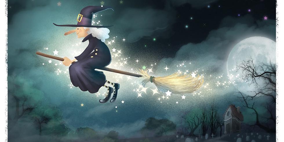 Die Zauberin kommt!