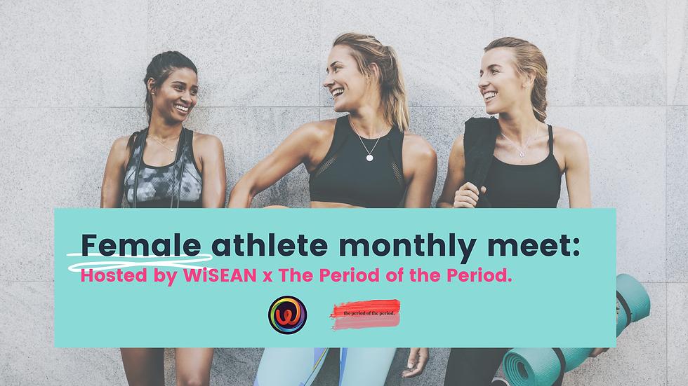 Female athlete monthly meet_ Tweet.png
