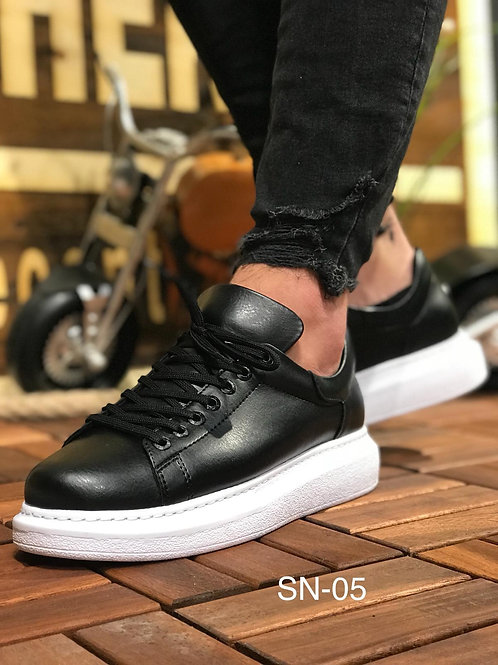Basket Noir Blanc