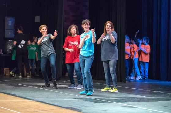 K-5 In-School Programming Performance, Teacher Dance 2019