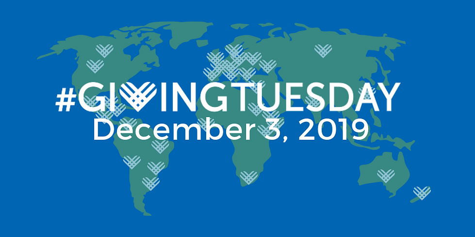 Giving Tuesday 2019 global date twitter.