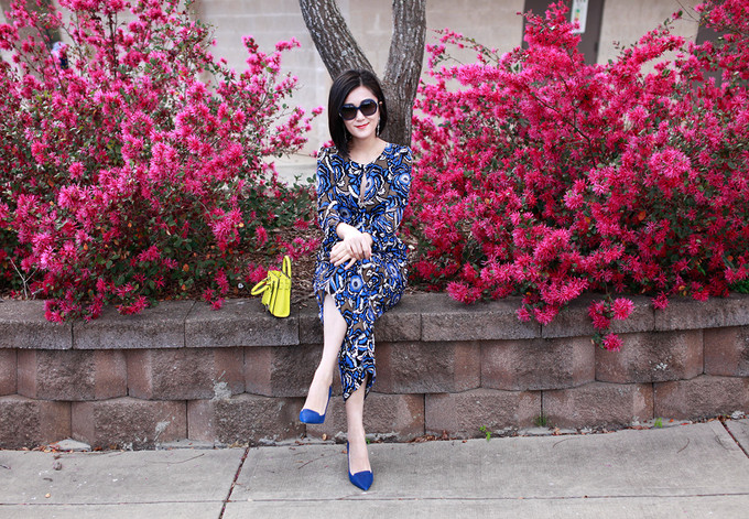 Floral Jumpsuit And Minibag