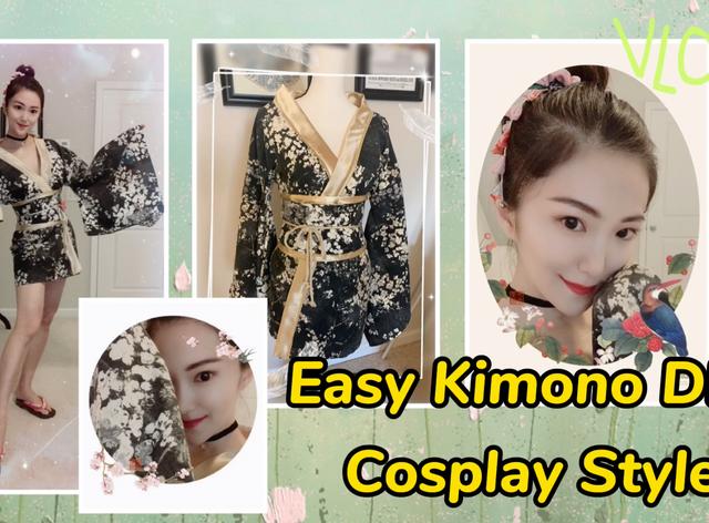 Easy & Beautiful Kimono DIY Tutorial - Cosplay Costume
