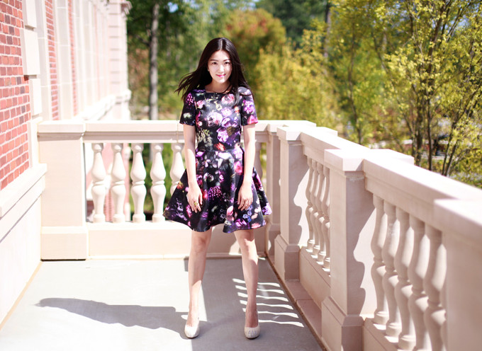 Let's Talk About Floral Print And Skater Dress