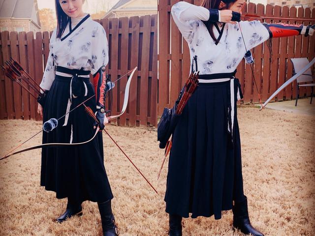 Mulan Style - Hanfu Archery Look