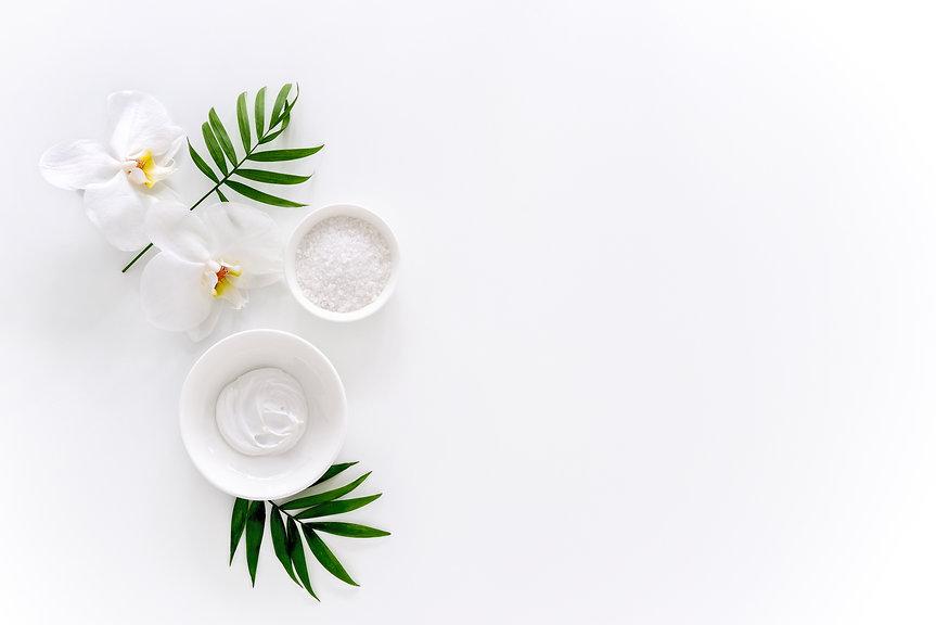 Spa concept or template for salon treatm