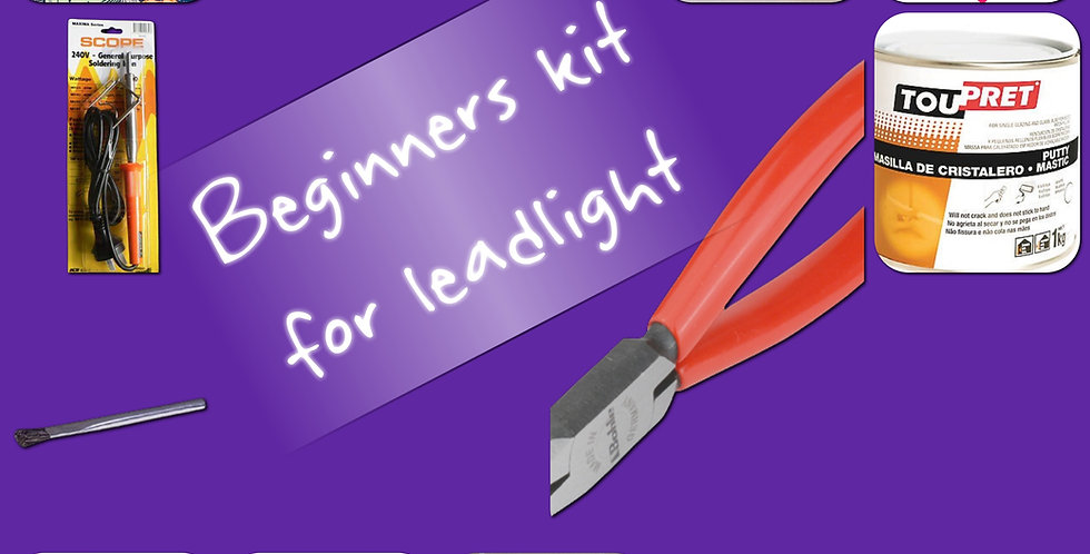 Leadlight beginners kit