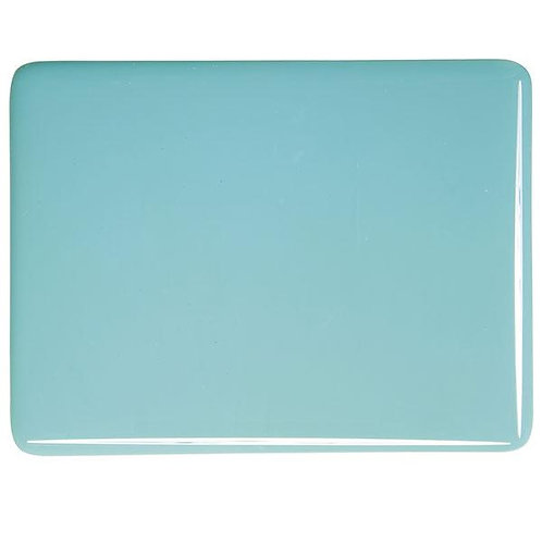 Turquoise Blue Opalescent, Double-rolled, 3 mm, Fusible