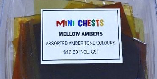Mini Chests Mellow Ambers  Mix