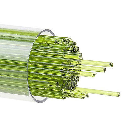 Spring Green Transparent, Stringer, 1 mm, Fusible, by the Tube