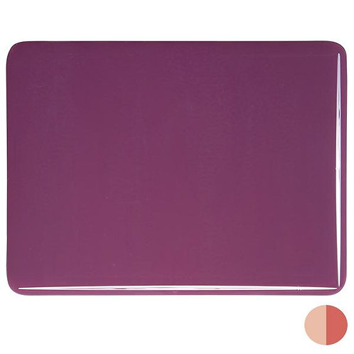 Plum Opalescent, Double-rolled, 3 mm, Fusible,