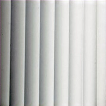 Reeded Clear Glass 300 x 300mm