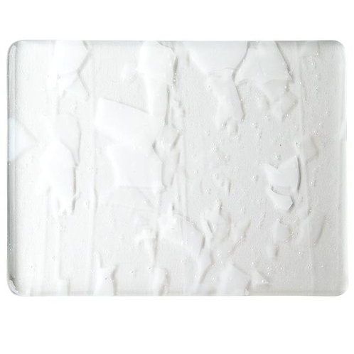 WINTER: White (with Clear Streamers) on Clear Clear Base Collage, Single-rolled,