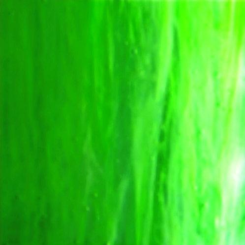 Jade Green White Wispy Opal 260 x 240mm