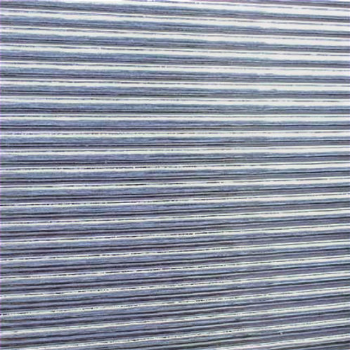 Quarter Reeded Clear Glass 300 x 300mm