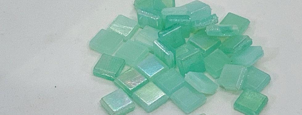 JADE  GLASS MOSAIC TILES 10X10mm