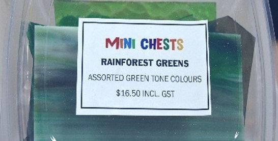 Mini Chests Rainforest GreenMix