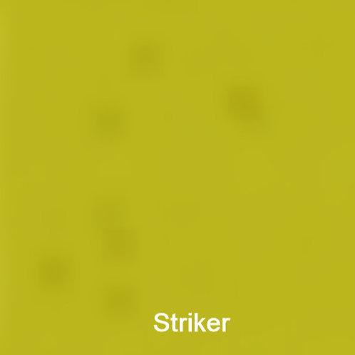 Transparents Chartreuse Striker 300 x 250mm