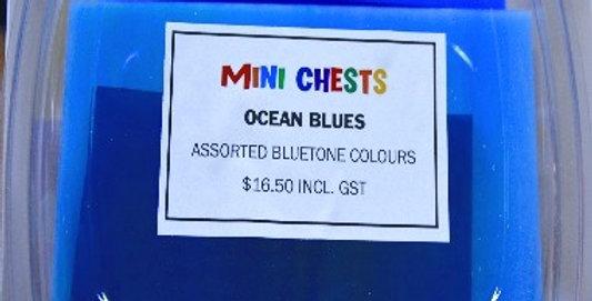 Mini Chests Ocean Blues  Mix