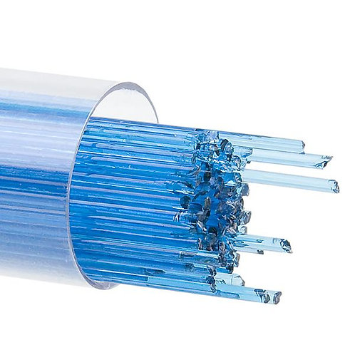 Turquoise Blue Transparent, Stringer, 1 mm, Fusible, by the Tube
