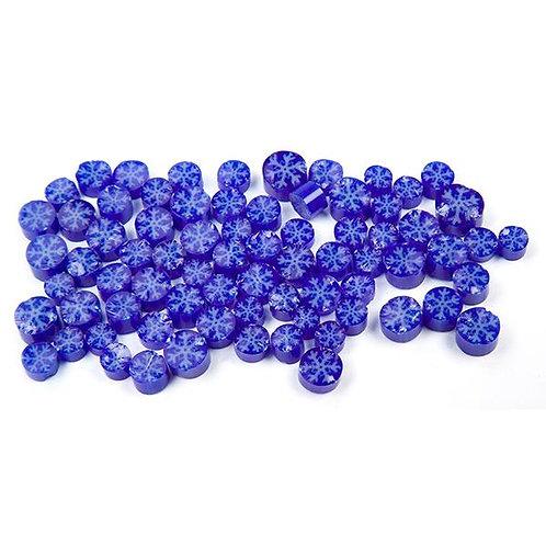 Murrine, Snowflake, Blue/White Pack,