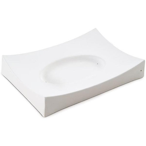 Oval in Rectangle, 9.1 in (23 cm), Slumping Mold