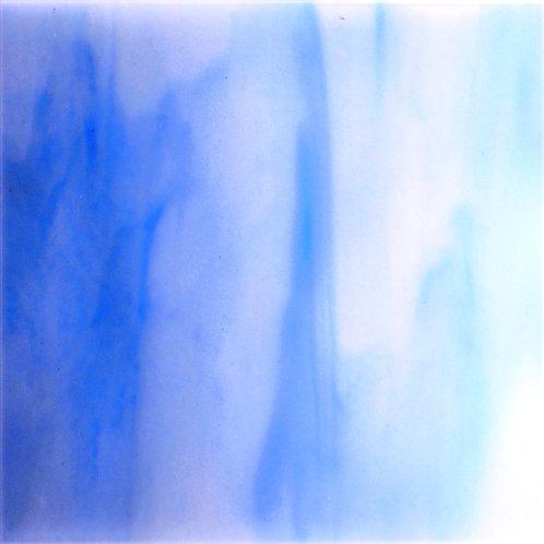 Colonial Blue/White  Opal 260 x 240mm