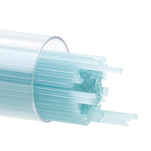 Turquoise Blue Opalescent, Stringer, 1 mm, Fusible, by the Tube