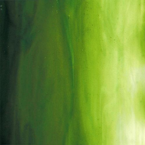 Olive Green/White Wispy Opal 260 x 240mm