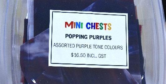 Mini Chests Popping Purple Mix