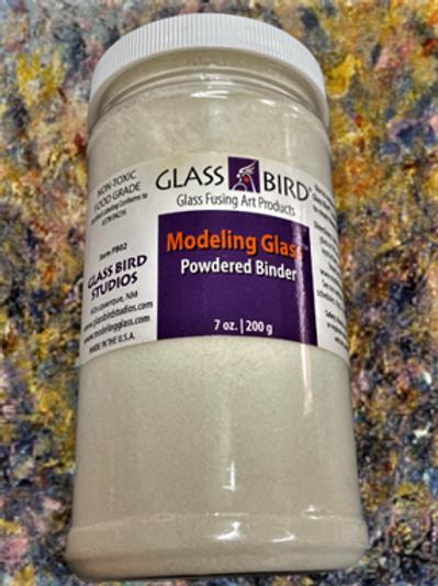 Powdered Binder -Modeling Glass 200g refill