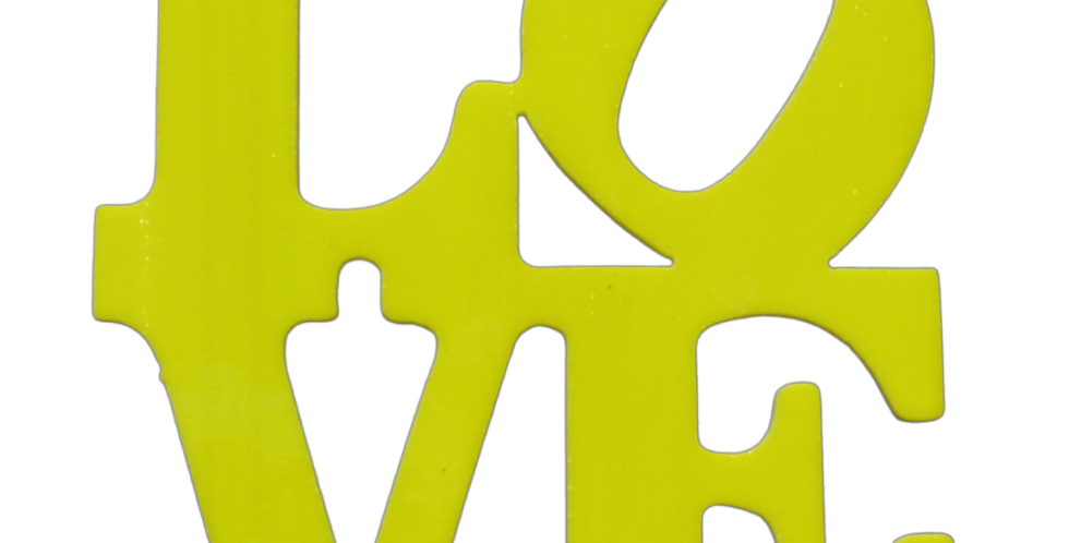 Love Yellow  Non Fusible 100mm x 100m