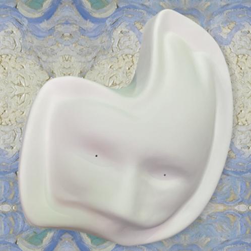 Mardi Gras Mask Mold by Glass Bird Studios