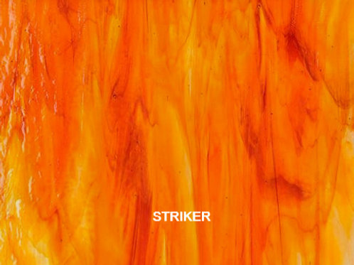 Yellow Red Striker 300 x 250mm