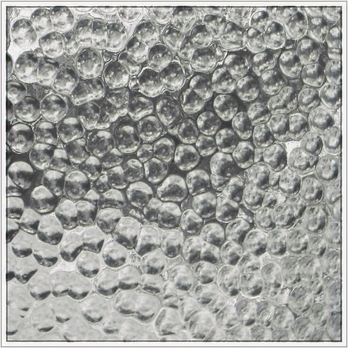 Hammered Clear Glass 300 x 300mm