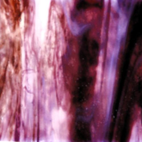Clear/White/Reddish Brown Opal 260 x 240mm