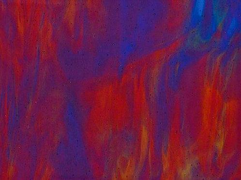 Cranberry Royal Blue Spring Green 300 x 250mm