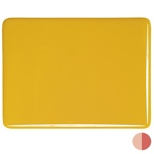 Sunflower Yellow Opalescent, Double-rolled, 3 mm, Fusible,