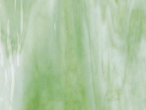 White Opal Light Green   300 x 250mm