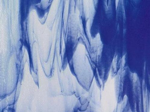 Clear Deep Cobalt Blue Opal  300 x 250mm