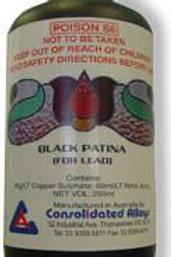 PATINA BLACK FOR SOLDER 250ML